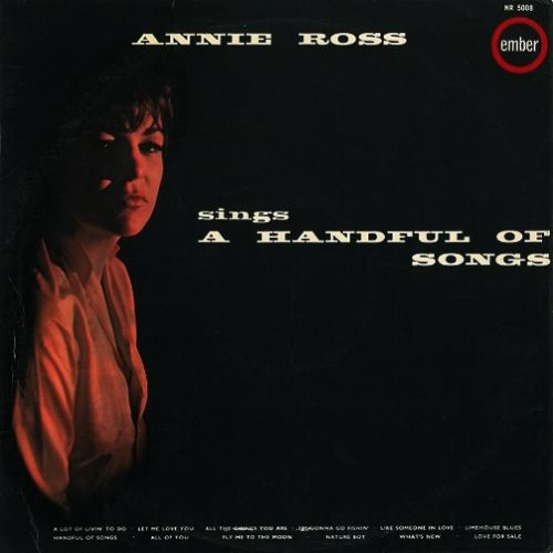 ANNIE ROSS Sings A Handful Of Songs Vinyl Record LP Ember 1963
